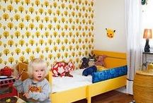 Children's Spaces / Children's bedrooms, playrooms, study spots and any other place children live.