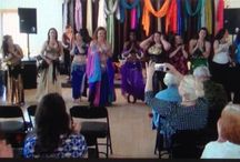 Belly Dance with Barbara / WEB http://www.thedancingspirit.com.Contact Barb@thedancingspirit.com for questions or to sign up for Belly Dance the fun, feminine, family folk dance & beautiful performing art for every age, shape, size, experience.  / by The Dancing Spirit
