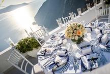 Santorini Wedding Reception | Real Weddings