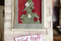 MERRY CHRISTMAS Card and such / Order all you SU products at: elainepelletier.stampinup.net