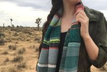 pidge pidge Handwoven Scarf Gallery / Designed in lush & unexpected hues, these modern scarves are the perfect handwoven accessory for anyone who loves bold color, pattern and texture. pidge pidge scarves are one of a kind heirloom textiles - truly unique art you can wear!