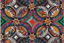 Modern Quilts / Hand sewn works of Art.