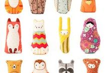 Kids Toys / The cutest stinkin' softies. EVER.