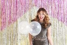 Photo Booth Backdrops / What's more fun than a photo booth? Nothing! Here are all of the best backdrops for inspiration.