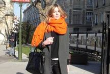 Autumn & Winter Fashion / All bundled up. Cozy Layers.