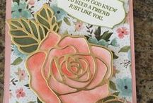 Rose Garden Framelits SU / This a wonderful framelit from StampinUp.  It can be ordered at  ElainePelletier.stampinup.net