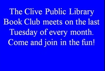 Clive Public Library Book Club / by Clive Public Library