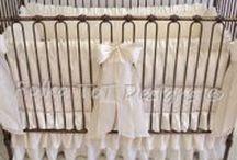 Project Nursery / Custom Baby Bedding by Polka ToT Designs www.polkatotdesigns.com