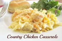 Casseroles / by Sharon Wilson