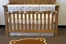 Bumper Free Crib Sets / Alternative to bumpers in the crib.  Rail guards/Covers