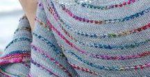Knitting - shawl, scarf