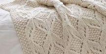 Knitting - blanket