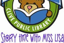 Miss Lisa 1,000 Books before Kindgergarten / The Clive Public Library is excited to introduce our newest early literacy program- 1,000 books before Kindergarten. 1,000 Books before Kindergarten is an on-going reading program designed to encourage parents and caregivers to read 1,000 books with their children before they enter school. The program is based on research findings showing that the more children ages 0-5 hear books read to them the more prepared they will be to learn to read in kindergarten. / by Clive Public Library