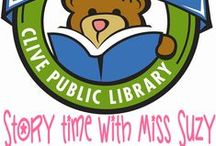 Miss Suzy 1,000 Books before Kindergarten / The Clive Public Library is excited to introduce our newest early literacy program- 1,000 books before Kindergarten. 1,000 Books before Kindergarten is an on-going reading program designed to encourage parents and caregivers to read 1,000 books with their children before they enter school. The program is based on research findings showing that the more children ages 0-5 hear books read to them the more prepared they will be to learn to read in kindergarten. / by Clive Public Library