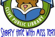Miss Teri 1,000 Books before Kindergarten / The Clive Public Library is excited to introduce our newest early literacy program- 1,000 books before Kindergarten. 1,000 Books before Kindergarten is an on-going reading program designed to encourage parents and caregivers to read 1,000 books with their children before they enter school. The program is based on research findings showing that the more children ages 0-5 hear books read to them the more prepared they will be to learn to read in kindergarten. / by Clive Public Library