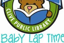 Baby Lap Time 1,000 Books before Kindergarten / The Clive Public Library is excited to introduce our newest early literacy program- 1,000 books before Kindergarten. 1,000 Books before Kindergarten is an on-going reading program designed to encourage parents and caregivers to read 1,000 books with their children before they enter school. The program is based on research findings showing that the more children ages 0-5 hear books read to them the more prepared they will be to learn to read in kindergarten. / by Clive Public Library
