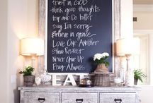 Chalkboard Home & Decor Inspirations