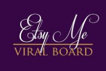 "Viral: ETSY ME Pin Board / Handmade gifts are the best ways to say ""I Love You"" to someone special! Crafted items are made from the tender love & care of their designers & make gift giving a unique & priceless occasion! Share the items you design & love! (Disclaimer: Are you a seller interested in joining our board? Email: Leilani@RolanisWonderland.com, ""Subject Line: Pinterest Board"" for your invite! Pin ONLY ITEMS YOU SELL, no nudity, violence, or sexual content. ALSO, JOIN OUR FACEBOOK BOARD ON Facebook.com/ETSYME)"