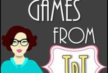 ❃Education Games TPT Products / This is a collaborative board containing educational game products from TpT. If you would like to join this collaborative board, please message me through Pinterest. Please note that older pins with no repins will be deleted from the bottom. Any help with deleting your old pins would be appreciated. Thanks!