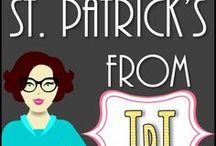 ❃St. Patrick's Day - TpT Resources / This is a collaborative board that contains St. Patrick's Day themed teaching resources from TpT Stores. If you would like to contribute to this board please message me through Pinterest,  Please note that older pins with no repins will be deleted. Any help with deleting your old pins is appreciated.