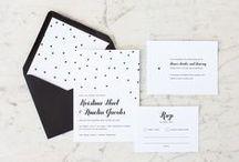 Wedding Invitations / Invitation inspirations, wedding invitations / by Linea Mae