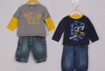 Moxie Style: Mr. Personality / At Moxie Jean, we divide our upscale resale kids clothes into collections to make it easier for you to shop for a specific look. Mr. Personality sure is a catch! Rough and tumble, ready to get into trouble this look is made up of classic boys clothing. Funny tees, sweatshirts, cargo pants and jeans with an attitude to go alongside. http://bit.ly/1isuikL / by Moxie Jean