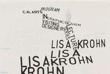 Typography / by Bjørn Erik Johnrud