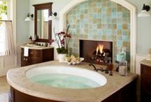 Bathroom makeover / by Colleen Niewinski