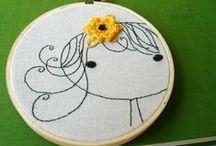 With a Needle and Thread / by Christina Alaniz