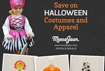 Halloween at Moxie Jean! / For Halloween, turn to Moxie Jean! Kid's costumes, baby costumes, Halloween outfits, Halloween shirts, witch shirts, Halloween pajamas. So many cute options to get in the Halloween spirit with your adorable little pumpkin, or bat, or frog. Or put together a costume from our resale clothes.   www.moxiejean.com #kidshalloweenclothes #resale  / by Moxie Jean