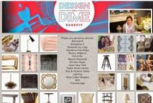 Design On A Dime, 2015 / Susan Young and I created a dream Designer's Atelier - to debut at Design on A Dime on April 23rd in NYC's Metropolitan Pavilioin - all donated items in this board and inspirations as well