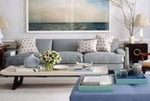 College Kid's Home / neutrals, nature-inspired, lots of white, some grey, pops of colors like blue or lavender