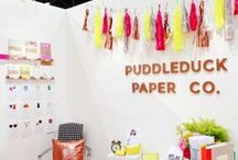 Booth Design / Booth designs and ideas for tradeshows & bridal shows. / by Linea Mae
