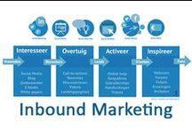 Inbound Marketing / Het draait bij Inbound marketing om 'Pull: verdiende aandacht' en dus niet om 'Push: gekochte media'. / by Anita Holthuis (AnitaHvL)