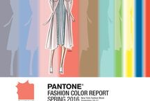 Pantone Spring 2016 / Floral inspired by colors in Pantone Spring 2016