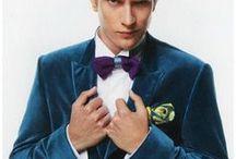 Tenue du marié / Sélection de tenues pour le marié : pantalon, cravates, chaussures, noeuds pap. Retrouvez plus d'inspiration mariage sur www.zankyou.fr