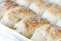 Bread Inspiration / Bread recipes and ideas -- Quick breads -- rolls -- biscuit and bread puddings. Bread machine recipes sprinkled into the mix!