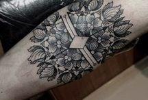 Fijne tatoages