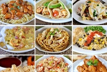 Main meal and side dish ideas / by Janet Goerdt
