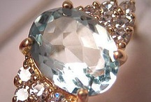 AQUAMARINES... / Have one similar to main pic but without the diamonds,was a present to me by my 1st husband on the birth of our second son, and is promised to my Grandaughter...Love it as much as when I first saw it,such a beautiful colour...PY...