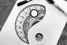 Doodles + more / Dibujos que me inspiran.