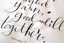 hand lettering / by Wanqi Yeo
