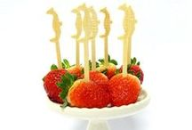 Palitinho Coquetel / Perfeitos para aperitivos, frutas, doces, sanduíches, composição de drinks. Veja a coleção completa aqui no site www.shopfesta.com.br #palitinhocoquete