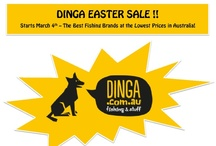 Dinga Autumn Sale 2013 / This Easter, Dinga Pty Ltd Australia continues its policy of Australia's Lowest Prices this Easter on all sorts of fishing tackle. With an embellished history of selling top-quality rods, reels and combos across NSW for the past 30 years, Dinga had recently taken its fishing tackle warehouse online with the launch of http://www.dinga.com.au.