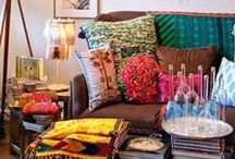 Style it: Bohemian - Ethnic / Furniture , accessories and ideas to give your home a bohemian or ethnic feel. / by Marina Castilla
