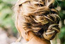 Hair / bridal hair, normal hair, hair inspiration, future hairstyles for me