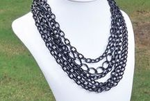 Metal & Chain / Fall fashion trends 2013... chunky chains, textured metals, and other fabulously on trend accessories!