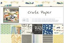 Boys Rule Collection / Crate Paper Collection  'Boys Rule' Projects from the Talented Design Team, released Winter 2014. #papercrafts #scrapbooking #paper