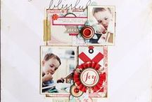 Sleigh Ride Collection / Cuddle up by the fire and celebrate the Holidays with the Sleigh Ride Collection from Crate Paper. Released Summer 2012. Christmas and Holiday Craft Ideas.