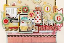 Party Day Collection / Get your party on with our Party Day Collection, released Winter 2013 by Crate Paper. Wonderful Birthday craft and cardmaking ideas.